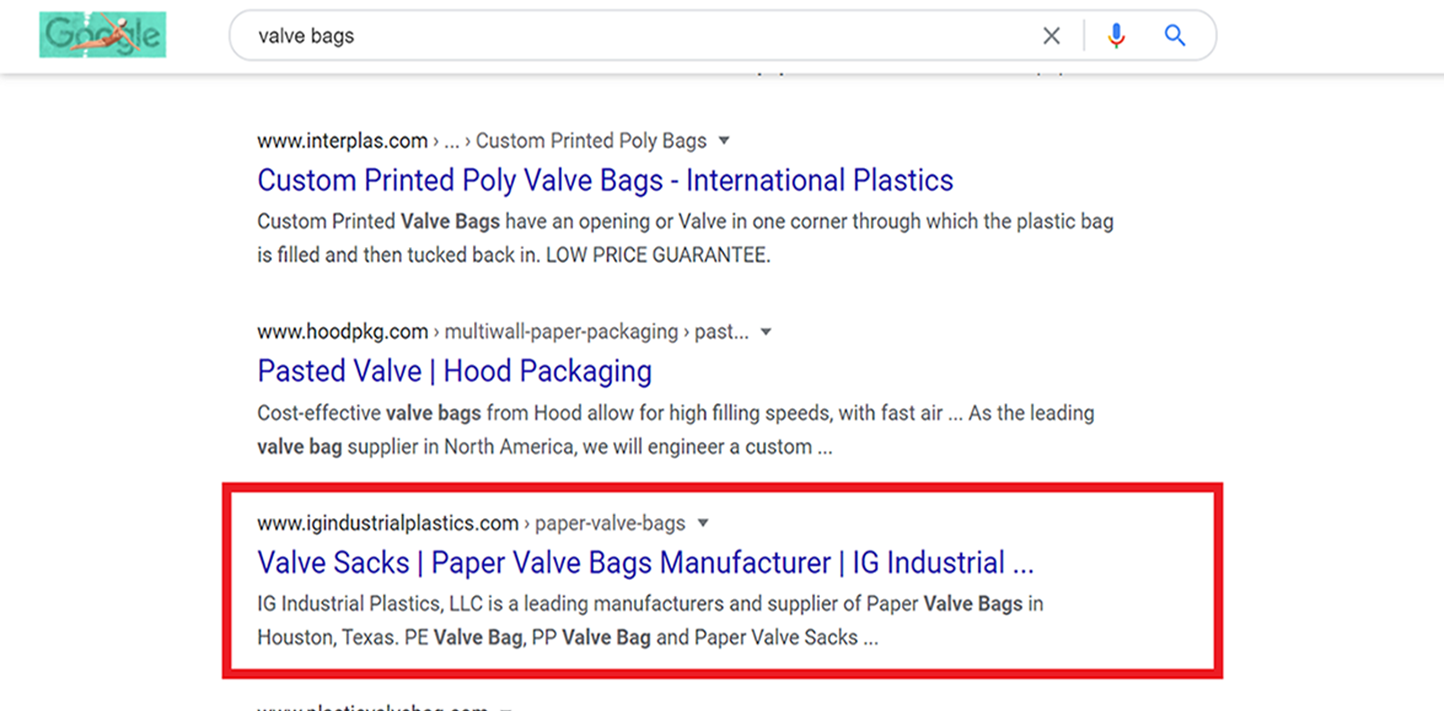 Valve Bags